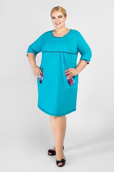 Туника женская. Домашняя трикотажная одежда.