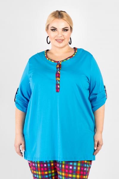 Комплект трикотажной одежды большого размера.